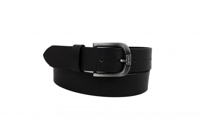Levis Gürtel - Cow Leather - Black front
