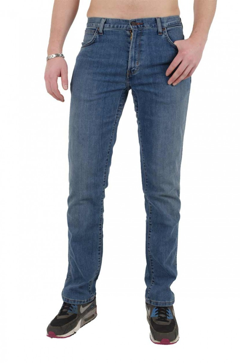 Wrangler Texas Stretch Jeans - Regular Fit - Tough Mid v