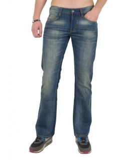 Mustang Oregon Boot Jeans - Slim Fit  - Tinted Rinse Wash