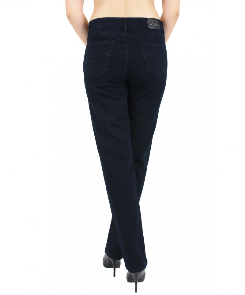 Angels Cici Jeans - Straight Leg -  Blue Blue