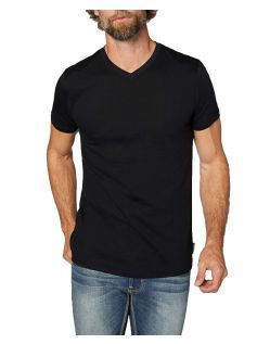 Colorado Don - schwarzes T-Shirt im Doppelpack mit V-Neck