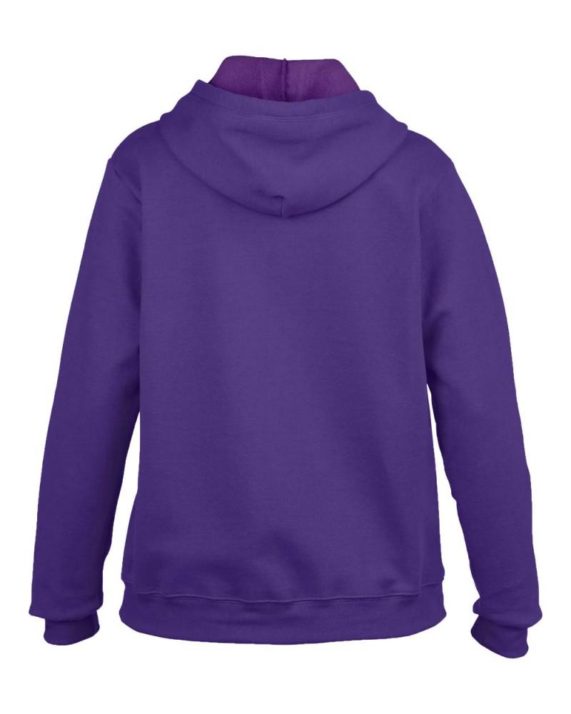 Gildan Vintage Kapuzensweatjacke - Lilac