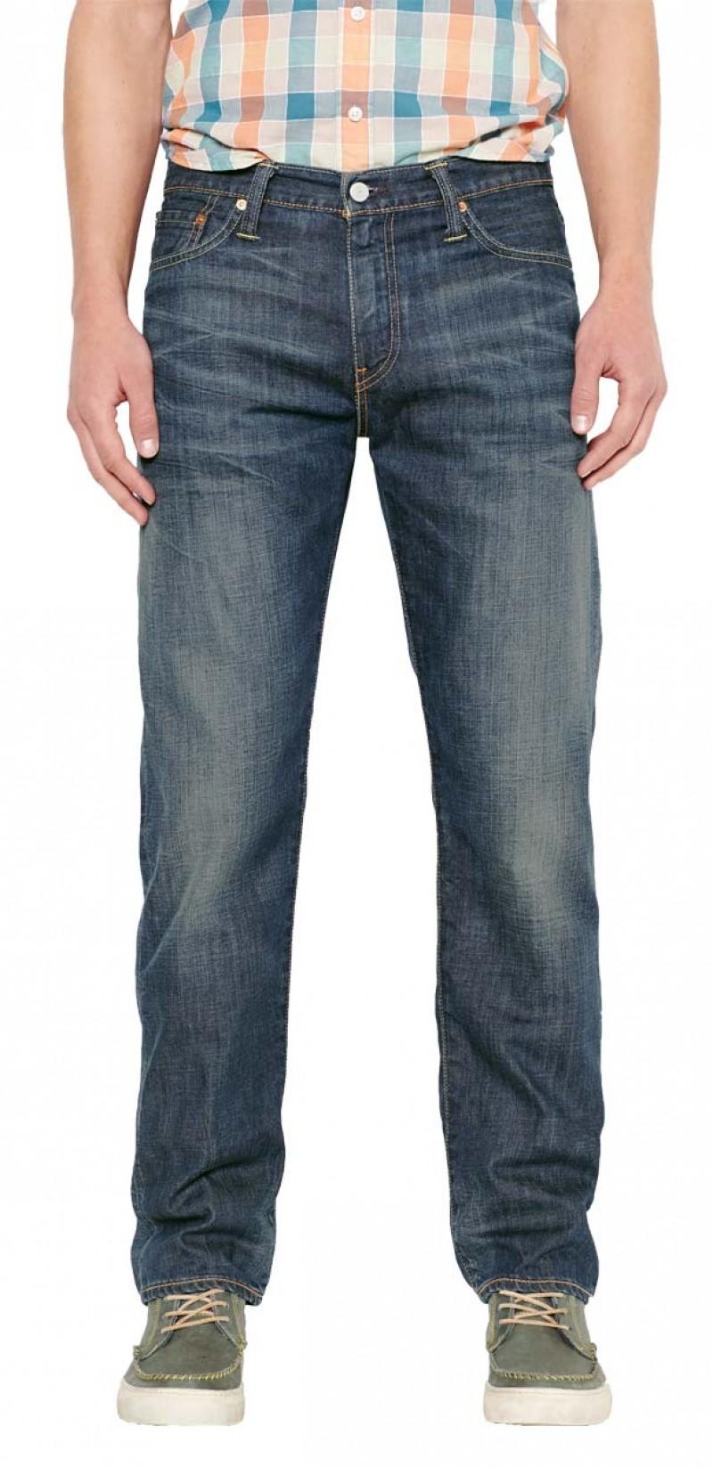 Levis 504 Jeans - Straight Leg - Explorer