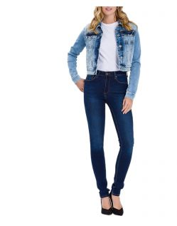 Cross Natalia - dunkelblaue High Waisted Jeans