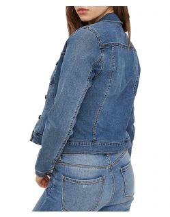 Vero Moda Soya - Jeansjacke - Medium Blue - Hinten