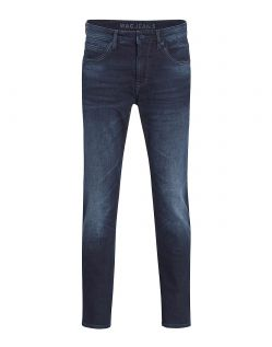 MAC ARNE PIPE - Slubby Denim - Blue Back 3D Authentic