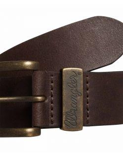 Wrangler Gürtel Basic Stitched Belt in Brown f02
