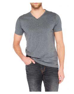 Colorado Wassily - V-Neck T-Shirt - Dark Grey Mel