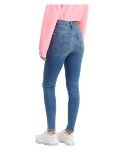Levi's Mile High Super Skinny Jeans in Used Optik - Hinten