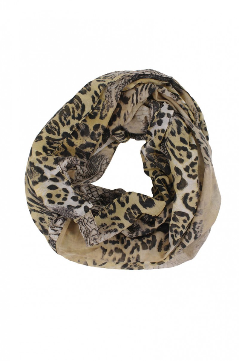 Pieces Florida - Loopschal - Animal Print