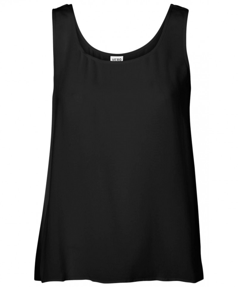 Vero Moda - Boca Tank Top - Schwarz