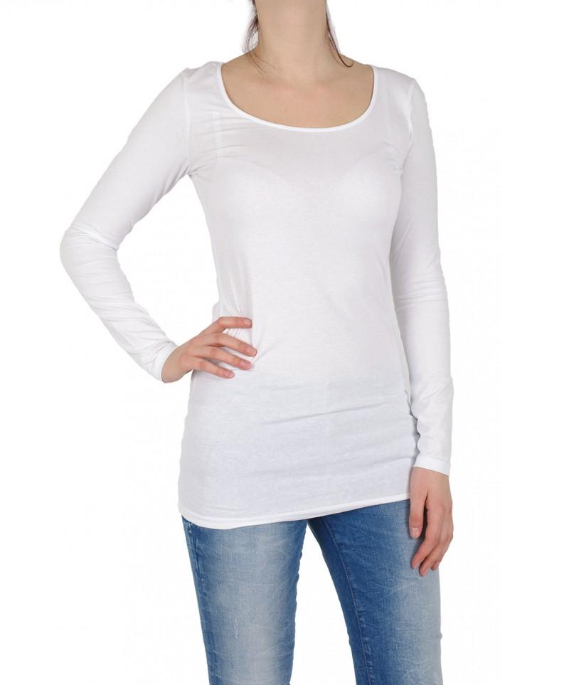 VERO MODA MAXI - Longshirt - Bright White