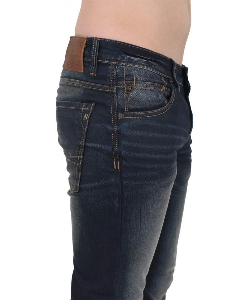 GARCIA RUSSO Jeans - Straight Leg - Dark Moon