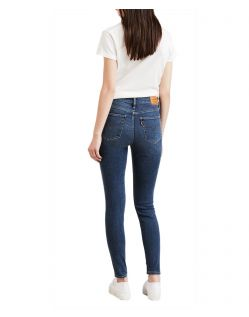 Levis 720 - High Waisted Skinny Jeans in Pave the Way - Hinten