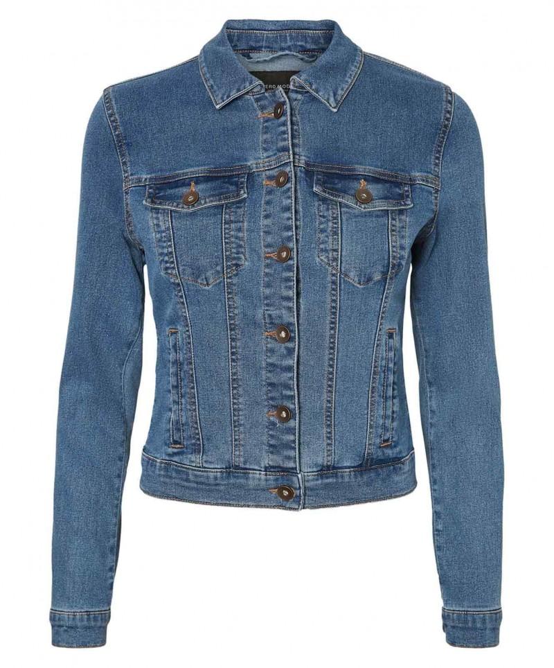 Vero Moda Soya - Jeansjacke - Light Blue Denim