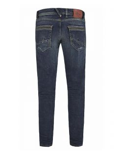 LTB HERMAN Jeans - Tapered Leg - Stormy Wash - Hinten
