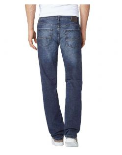 Pioneer Rando - Stretch Jeans - Dark Used - Hinten