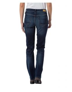 CROSS Jeans Rose - Straight Leg - Dark Blue - Hinten