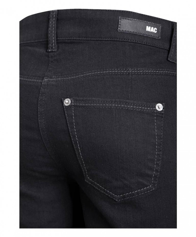mac angela pipe dyn slim fit jeans black jeans meile. Black Bedroom Furniture Sets. Home Design Ideas