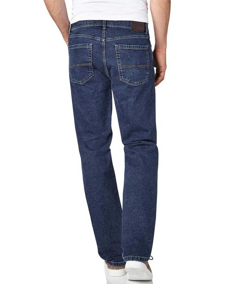 Pioneer Rando - Straight Jeans in azurblauer Waschung