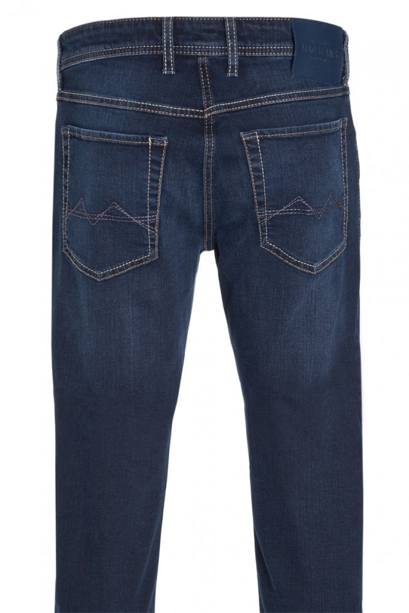 MAC ARNE Jeans - Regular Fit - Blue Black