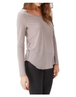 VERO MODA LUA - Langarm Shirt - Light Grey Melange