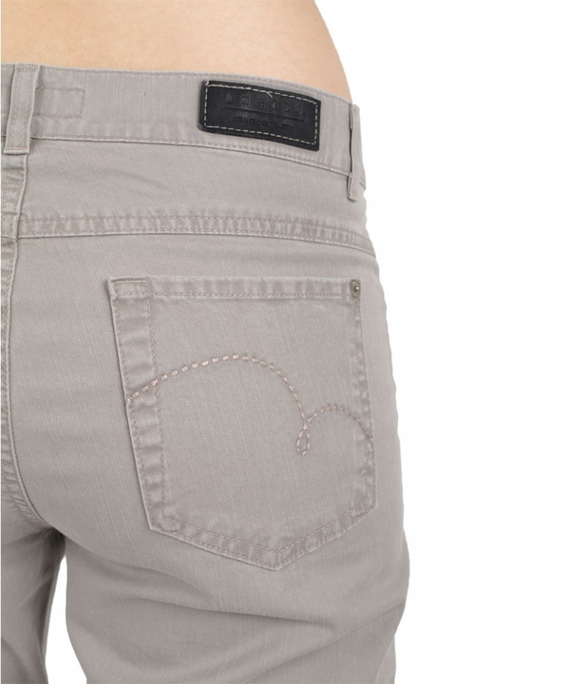 ANGELS CICI Jeans - Regular Fit - Sommergreige