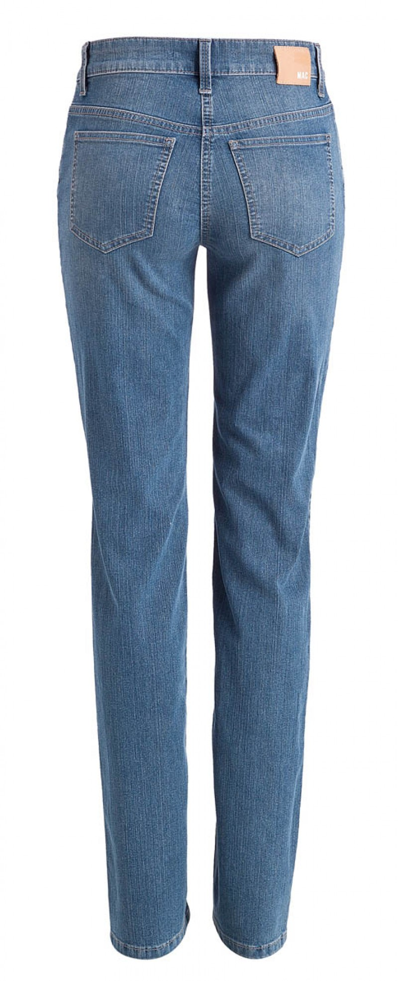 Mac Jeans Angela - Straight Leg - Stone