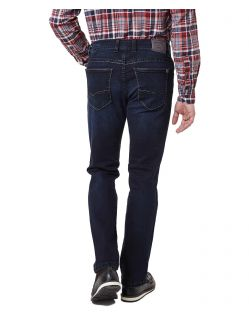 Pioneer Rando - Regular Fit Jeans in dunkelblau - Hinten