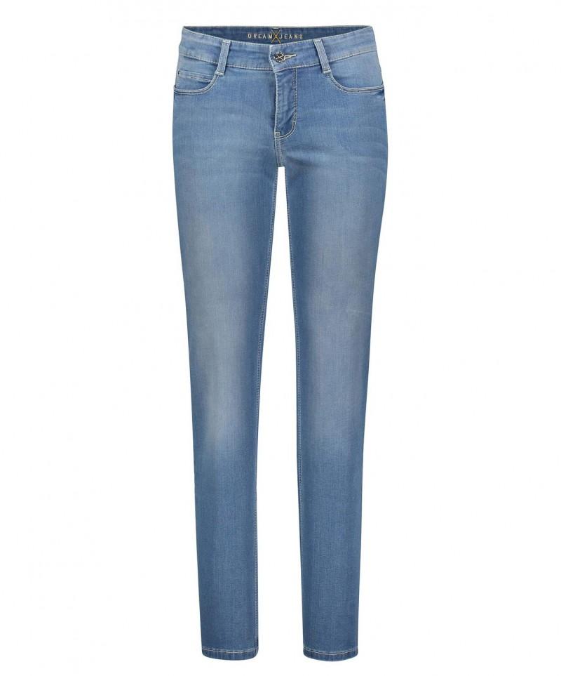 MAC DREAM Jeans - Straight Leg - Summer Light Blue