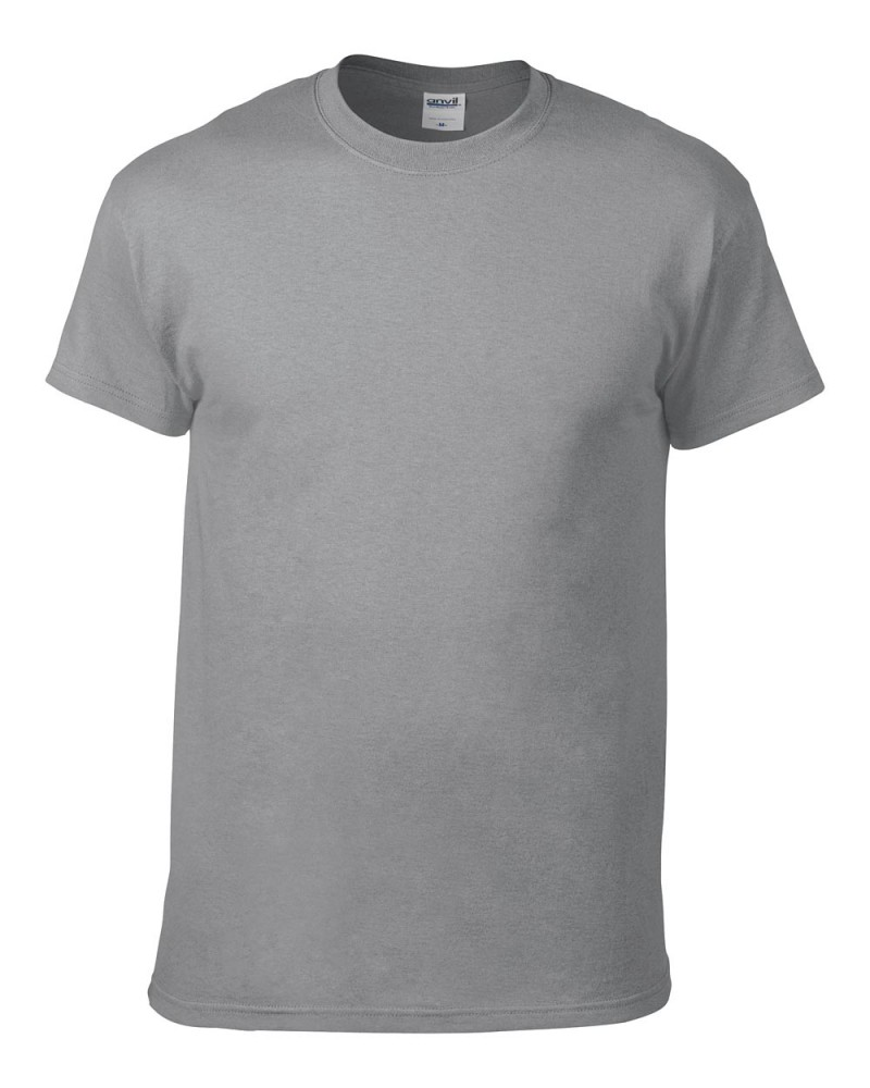 Anvil T-Shirt - Heavyweight - Storm Grey