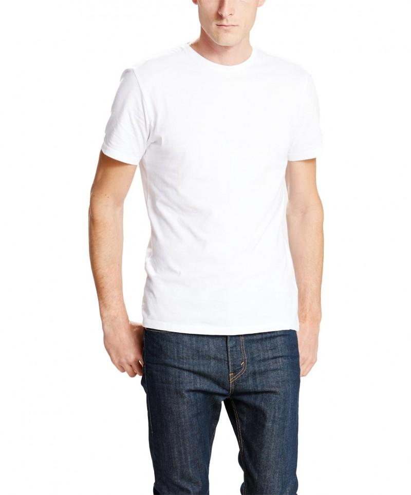 LEVI'S T-Shirt 2 Pack Crew Tee - Slim Fit - Dunkelblau