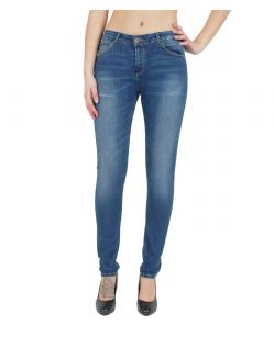 GARCIA Jeans CELIA - Super Slim Leg - Blue Worn