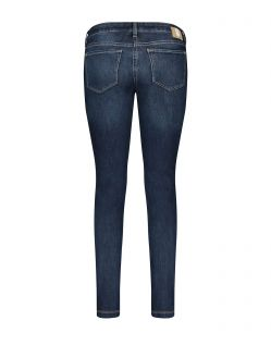 MAC Skinny Jeans - Straight Fit - New Basic Wash - Hinten