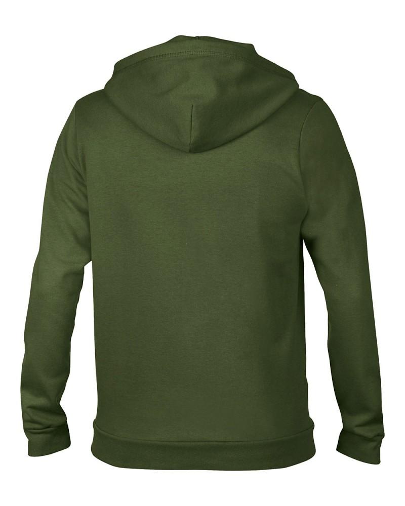 Anvil Sweatshirt - Kaputzenjacke - City Green