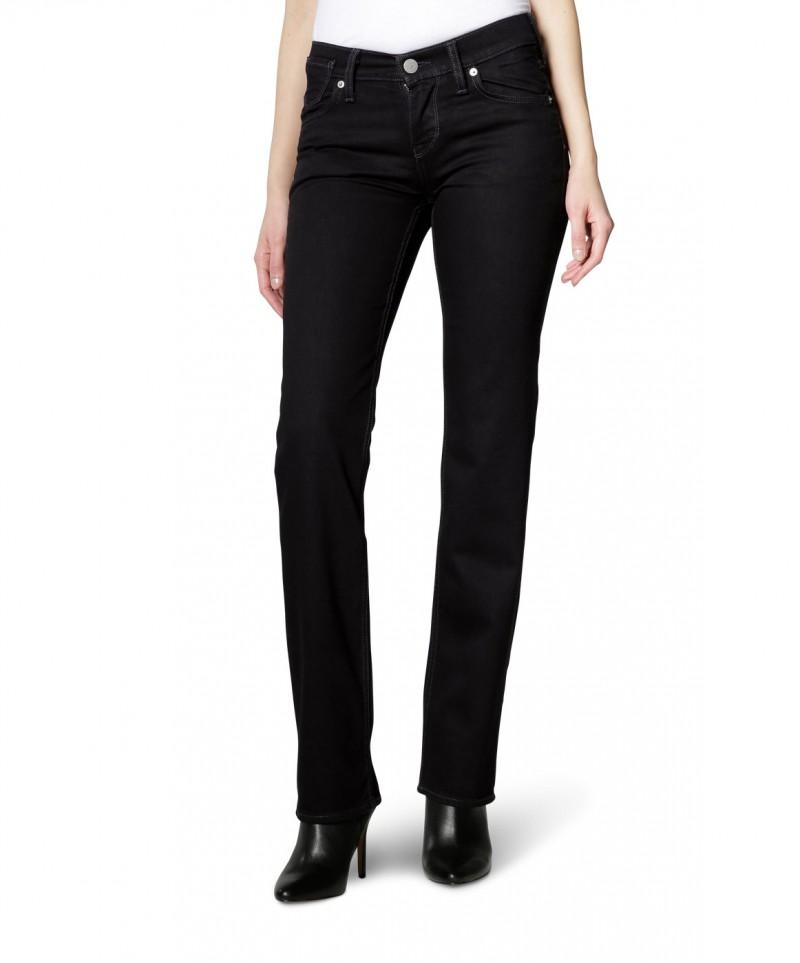 Mustang Jeans - Girls Oregon - grades Bein - Schwarz