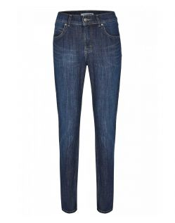 Angels Cici - Straight Jeans in Used Optik mit Crinkle