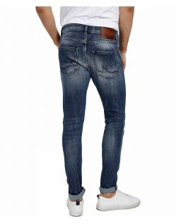 LTB Smarty - Skinny Jeans in azurblauer Waschung - hinten