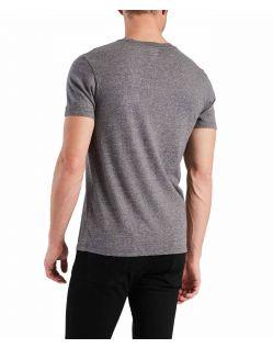 Levis Original Tee - blaues Basics Shirts aus Baumwolljersey f02
