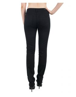 MAVI Jeans KENDRA - High Rise Jeans - Black Lurex Fancy - Hinten