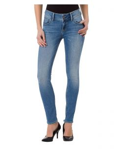 CROSS Melinda - High Waisted Jeans - Light Blue Destroyed