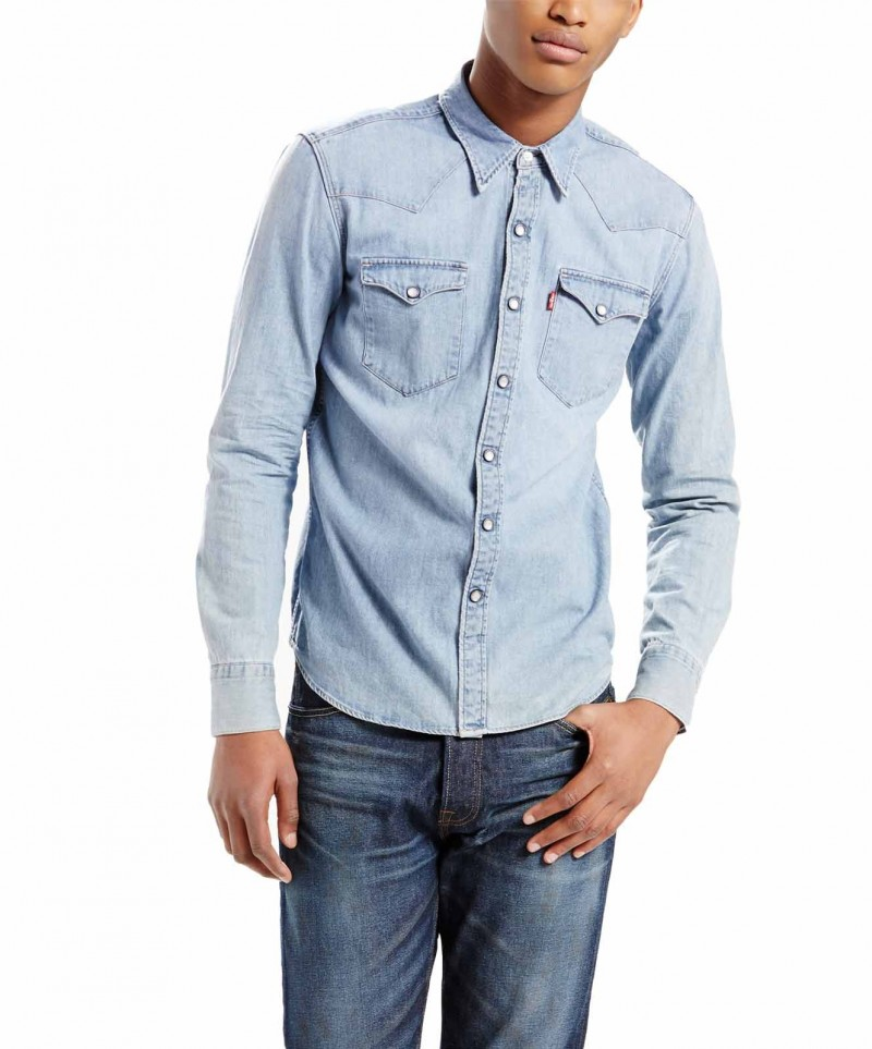 Levis Jeanshemd - Barstow Western - Red Cast Stone