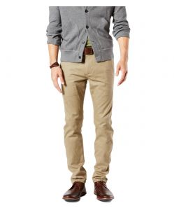 DOCKERS ALPHA - Original Skinny - New British Khaki 6203