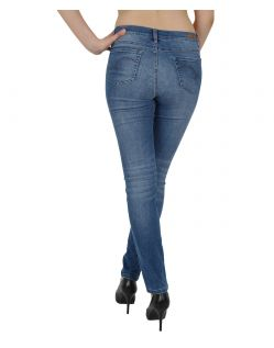 Angels SKINNY - Oxygene Denim - Old Washed - Hinten