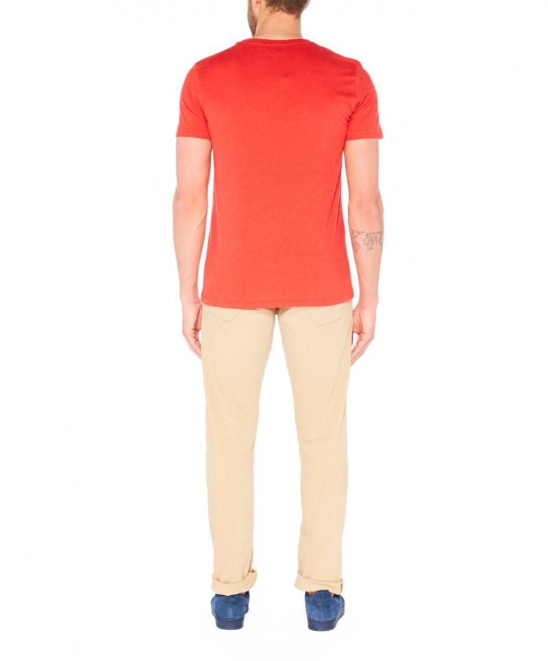 Colorado Joaquim - V-Neck T-Shirt - Aurora Red Mel