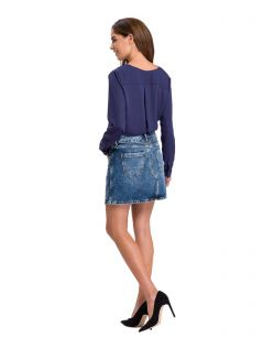 Cross Jeansrock Mariella in angesagter Denimoptik - B02