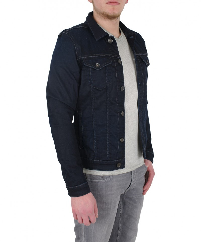 GARCIA RAUL Jeansjacke Blue Black Used