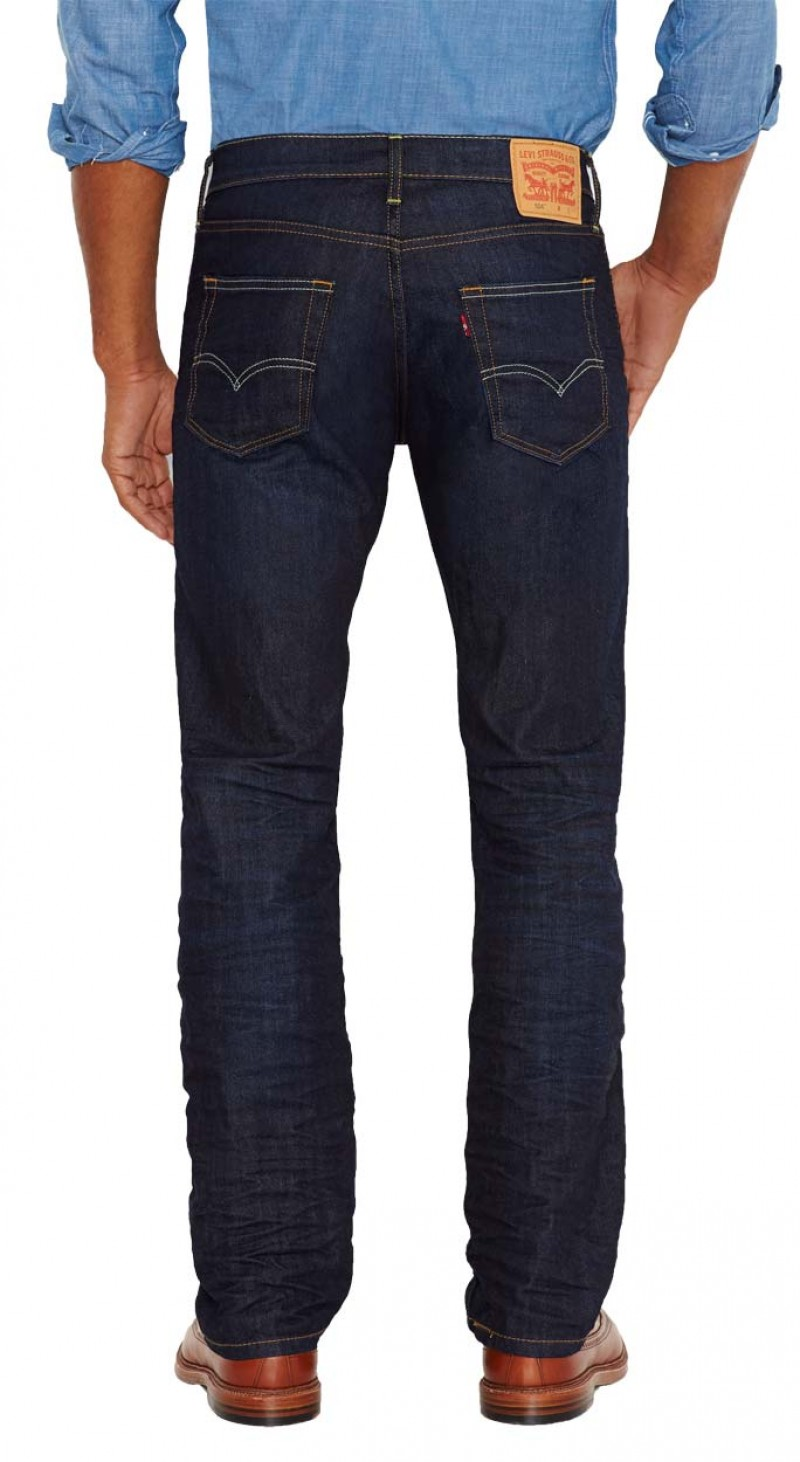 Levis 504 Jeans - Straight Leg - The Rich