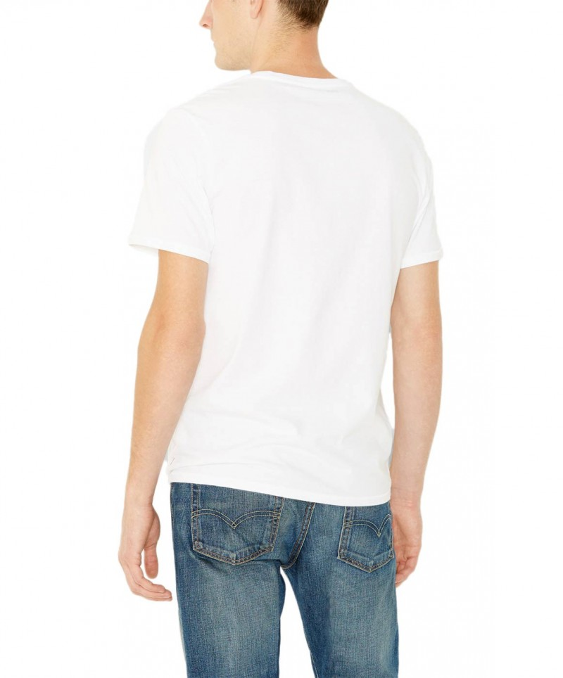 Levis T-Shirt - Batwing Tee - White