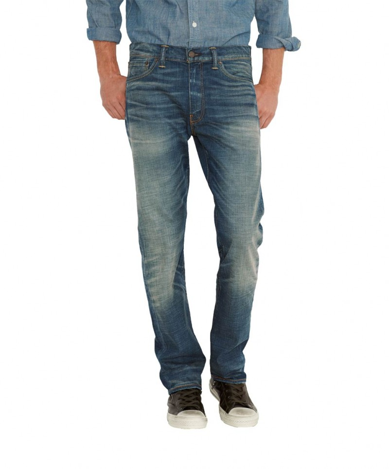Levis 513 Jeans - Slim Straight - Mogwai
